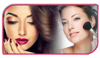 Make-Up Services at Vinnis Salon